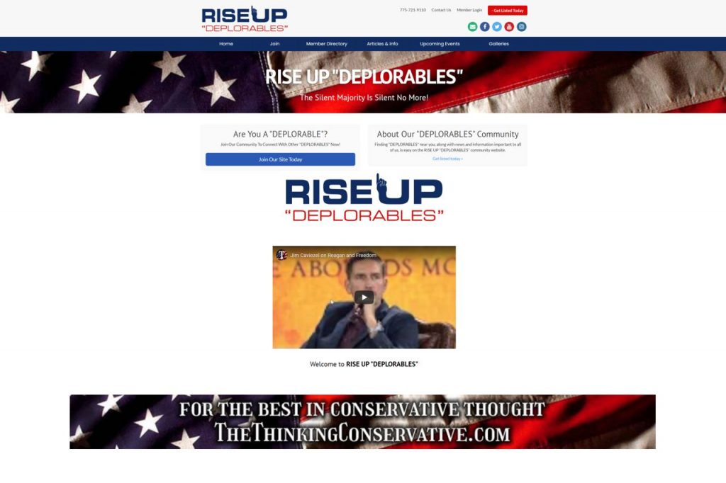 Rise Up Deplorables Directory